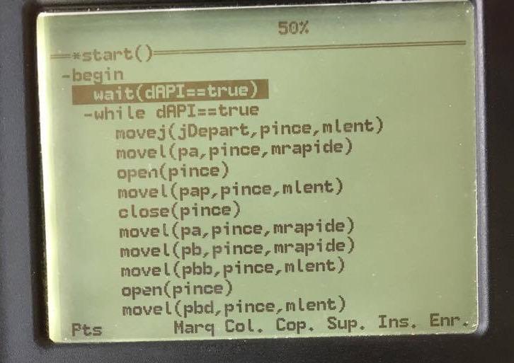 Programme Robot TX40 (1)