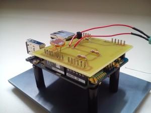 Arduino YUN et platine de capteurs
