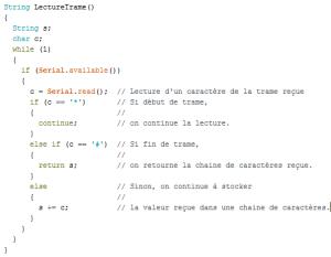 BB8_Fonction LectureTrame